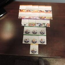 Heroclix Marvel Armor Wars Complete Token Set of 21 Cards in Near Mint