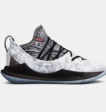 Under Armour Curry 5 International Smoke Chef Sizes 8 to 12.5 White 3020657-108