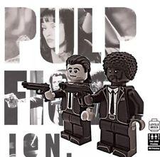 **NEW**LYL BRICK Custom Pulp Fiction Lego Minifigures, set of 2