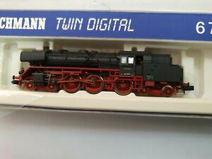 Fleischmann N 6 7052 Dampflok Twin Digital BR 62 002 62002 DB mit OVP