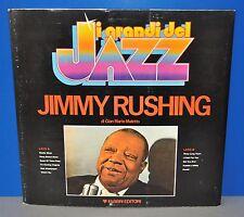 Jimmy Rushing i Grandinetti del jazz M-FOC + 8-page book VINILE LP