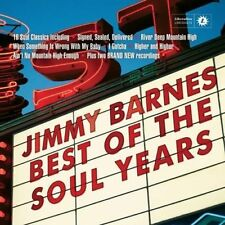 Jimmy Barnes - Best of the Soul Years by Jimmy Barnes.New & Sealed