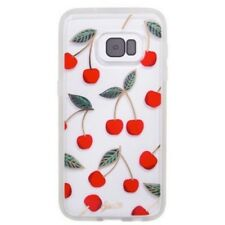 Authentic Sonix (1756) Clear Coat Case For Samsung Galaxy S7 - Cherries & Clear