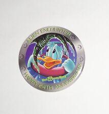 Vintage Walt Disney World 1995 Button Happy 24th Anniversary Donald Duck