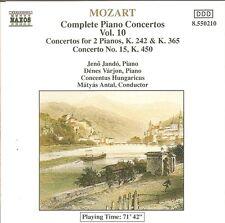 Mozart – Complete Piano Concertos Vol.10 / Jenö Jandó • Dénes Várjon