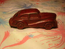 Vintage SEDAN TOY CAR HARD RUBBER RARE EC