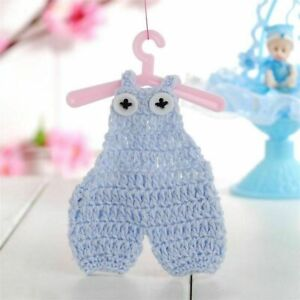 Mini Handmade Baby Crochet Clothes Gender Reveal Party Crafts/Doll/Bears/Prop
