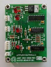 Applied Materials Wafer Sensor Board 0100-09123 Rev C AMAT Precision 5000