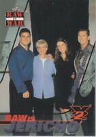 Shane Stephanie Vince McMahon 2001 Fleer WWF Raw is War Jericho Card RJ10 Family