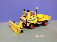 (K85) playmobil camion chasse neige ref 3454