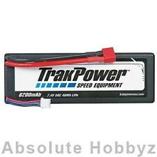 TrakPower LiPo 2S 7.4V 6200mAh 50C Hard Case
