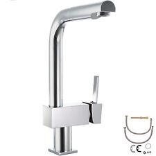 Wasserhahn Küchenarmatur Küche drehbar Wasserkran hoch Einhandmischer Armatur