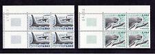 France (St Pierre) - 2001 Whales - U/M - CORNER BLOCKS of FOUR - SG 854-5