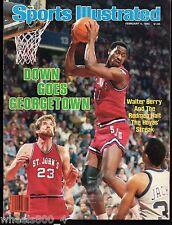 Sports Illustrated 1985 St Johns Redmen Chris Mullin Walter Berry No Label Exc.