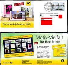 Plusbrief Kreativ Deutsche Post Briefmarken 2017 05.01.2017