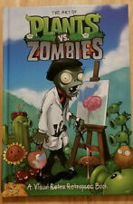 THE ART OF PLANTS VS. ZOMBIES: A VISUAL BOOK ~ DARK HORSE HARDCOVER NEW