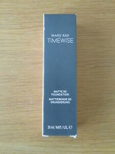 Mary Kay Timewise MATTE-Wear 3D Liquid Foundation NEW various shades