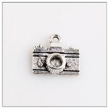 40 Camera Tibetan Silver Charms Pendants Jewelry Making Findings 2E9C0F