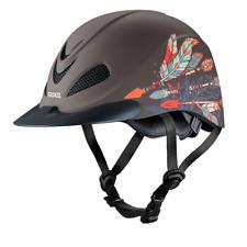 Troxel Riding Helmet Rebel Arrow Horse Safety Riding Low Profile Medium