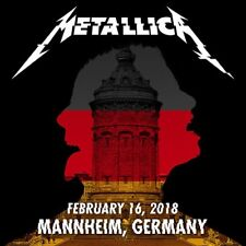 METALLICA / WorldWired Tour / SAP Arena, Mannheim, Germany / February 16, 2018