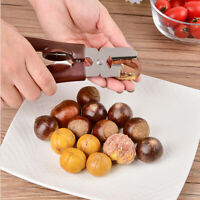 Chestnut Opener Stainless Steel Peeling Chestnut Clip Cutter Walnut Plier Tools