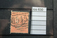 STAMPS OLD GREAT BRITAIN  UK 1865   4 PENCE   USED   (ROS630