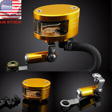 Universal Brake Reservoir Oil Cup For Suzuki SV1000S SV650 TL1000R Aprilia Gold
