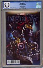 Infinity 1 CGC 9.8 Djurdjevic Variant Thanos Avengers War Thanos Black Order 2 3