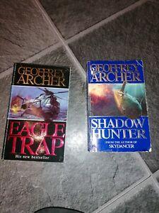 Geoffrey Archer reading books novels selection collection hardback paperback set