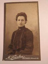 Düren - 1904 - Helene Stollenwerk als junge Frau - Portrait / CDV