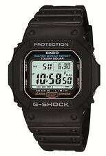 Casio G-Shock Mens Digital Wrist Watch G5600E-1  G-5600E-1 Solar Digital Black