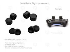 Joystick Caps 8pc PS4 Controller 100% Silicone Extender XBOX 360 thumbstick mod