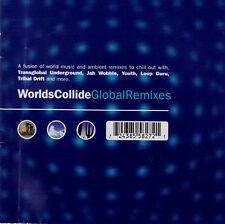 Worlds Collide Global Remixes / Yosefa Madredeus Grupo Raices Djavan Pyx-Lax 2CD