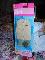 2002 #68040 Ken Fashions NRFP Barbie Mattel