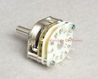 1pc Japan Seiden 2x 6 Position Rotary Switch for Audio Attenuator Potentiometer