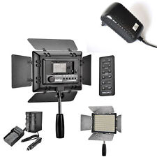 YN-300 II LED Video Light + 4400mah Battery + AC Charger For Canon Sony DSLR
