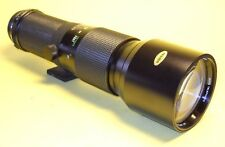 Vivitar 400mm lens for Olympus OM extremely good cond!