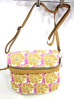 RELIC, CORA CROSSBODY BAG, BRIGHT FLOWER PATCH, ONE SIZE, NEW WITH TAGS