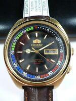 Vintage ORIENT SK 5 BAR Automatic 21 jewels Japan Men Wrist Watch Rare