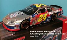 ACTION 401744 Jeff Gordon No. 24 DuPont/Wright Brothers 2003 Monte Carlo 1:32