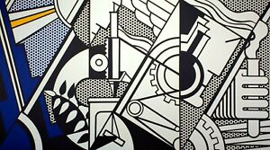 Roy Lichtenstein, Peace Through Chemistry, Plate Signed Lithograph