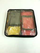 Medical pouches.  Set of 5 colour coded pouches as supplied to NHS