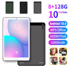 10.1Inch Tablet PC Android 10.0 128GB 10 Core WIFI Dual SIM Camera Phablet 4G