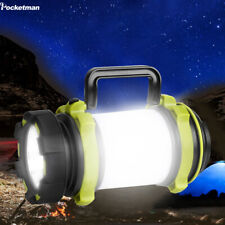 50000LM LED Flashlight Camping Lamp USB Rechargeable Work Light Torch 4 Modes