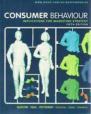 Consumer Behaviour: Implications for Marketing Strategy by Simone Pettigrew