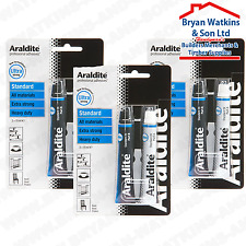 3x Araldite Standard 2 Part Epoxy Resin Adhesive suitable for all Material's