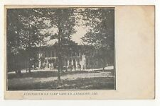 Auditorium on Camp Ground, ANDERSON IN Vintage Indiana Postcard