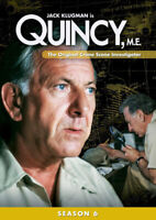 Quincy M.E.: Season 6 (Sixth Season) (5 Disc) DVD NEW