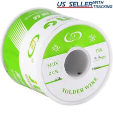 6337 Tin Lead Rosin Core Flux 08mm Diameter Soldering Solder Wire 1kg Spool
