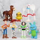 Toy Story Buzz Lightyear Woody Bulleye 7 PCS Action Figure Kids Toy Doll Gift